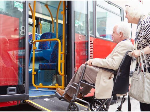 Belmont Arthur Avenue LDC Senior Bus